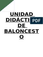 57518097 Unidad Didactica Basket