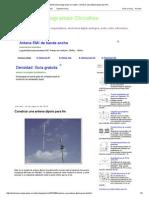 Electronica Diagramas Circuitos_ Construir Una Antena Dipolo Para Fm