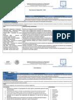 CT3 Plan Anual y Mensual 2013 - 2014
