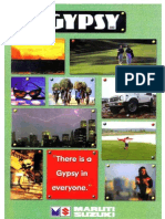 Maruti Gypsy Brochure