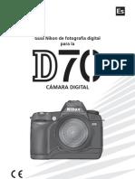 Camara Nikon d70