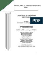 Diversidad Cultural Del Estado, Generacion Ag. 2013-2016