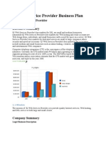 Internet Service Provider Business Plan