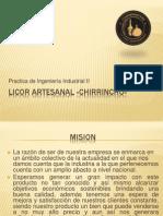 LICOR ARTESANAL «CHIRRINCHO»
