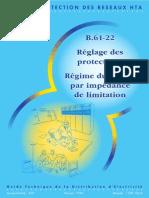 B.61-22 Réglage des protections