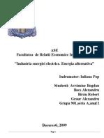 Industria Energiei Electrice