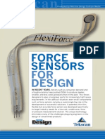 FLX Force Sensors for Design