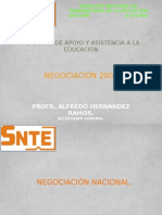 Snte Seccion 6 Negociacion Salarial Paee 2009