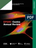 Regenerative Medicine Annual Report 2012