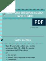 Hematoma Subdural Agut