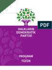 Halkların Demokratik Partisi Program Tüzüğü