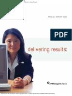 2003 JP Morgan Annual Report