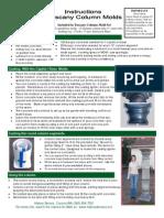 Tuscany Column Instructions