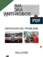 Detector Sonoro Anti-robos