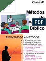 Clase01 Metodos de Est Bibl