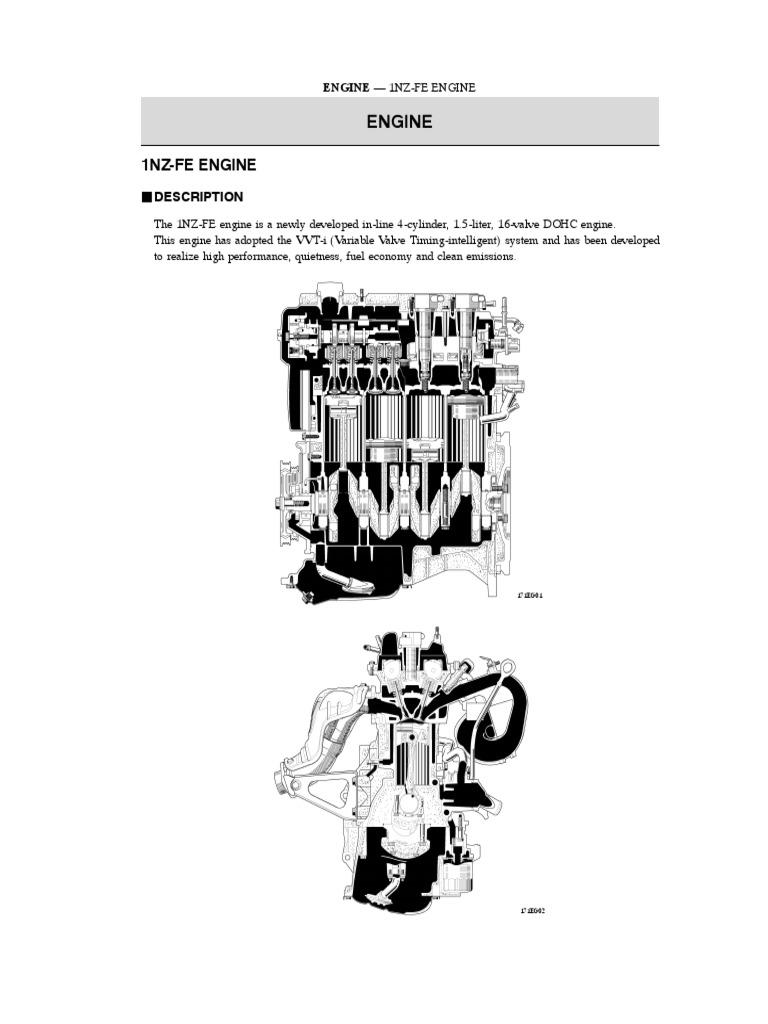1NZ-FE Engine Description | Engines | Ignition System
