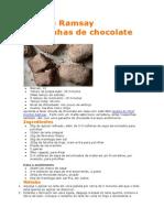 Gordon Ramsay Rosquinhas de Chocolate