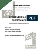 Geomecanica 1er Tarea 1er Departamental