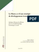 Rapport Fondation Bouabid Strategie Developpement Maroc