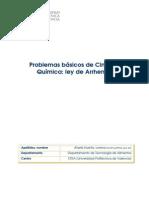 05 - Articulo Docente Problema CINETICA QUIMICA Arrhenius