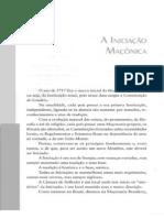 A INICIACAO MAÇONICA RIZZARDO DA CAMINO IN O APRENDIZADO MAÇONICO ED  A TROLHA