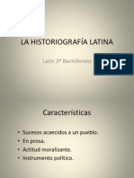 La Historiografc3ada Latina