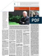 Entrevista Mons. Luis Romera