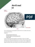 Cum să devii mai inteligent