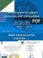 Torsion and Mechanical Tests