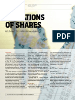 Valuations of Shares