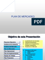 Plan Mercadeo y Ventas
