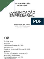 Aula 001 Apresentacao Comunicacao Empresarial RHI