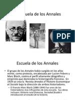 Escuela de Los Annales PTT II