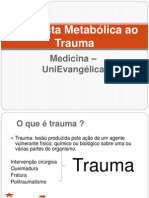 Resposta Metabolica Ao Trauma