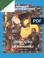 Ad&d 2.0 - El Desafio Del Guerrero