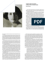 I Filosofi Antichi Nel Pensiero Di Simone Weil e Hannah Arendt - Wanda Tommasi