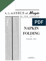 Napkin Folding Ottimo