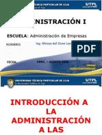 introduccinalaadministracinalasorganizaciones-100408170200-phpapp02