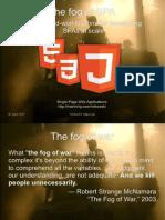 Mikowski the Fog of SPA