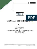 MM _Cadastro de Material V4