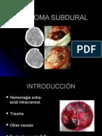HEMATOMA SUBDURAL CAPSULA