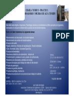 TRANSFORMADORES Y PRUEBAS DE ALTA TENSIÓN