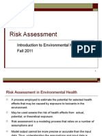 BAsic Tox Risk Assessment Part 2 Fall 20