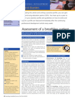 Assessment of a Breathless Patient