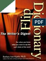 Writer's Digest Flip Dictionary-Mantesh