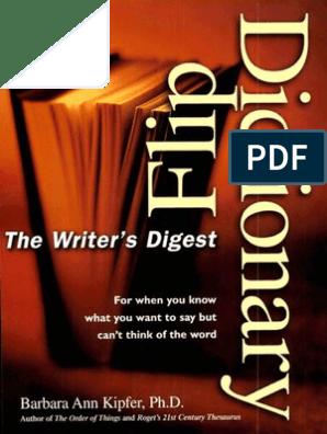 Design On Stock Fauteuil Spunk.Writer S Digest Flip Dictionary Mantesh