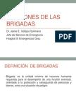 Funciones de Las Brigadas en Caso de Desastres