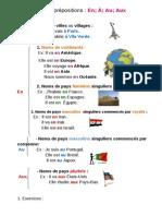 nacionalidades e preposições