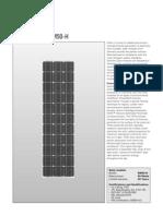 Solar Module SM50-H