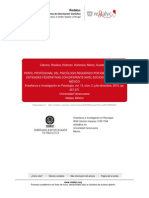 Cabrera et al 2010 Perfil profesional del psicólogo requerido por empleadores (1)
